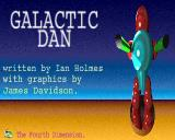 Galactic Dan Acorn 32-bit Title screen