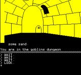 The Hobbit Oric Thrown into the dungeon