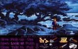 Monkey Island 2: LeChuck's Revenge DOS On a beach.