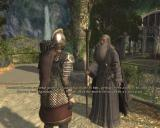 The Lord of the Rings: War in the North Windows Talking to Gandalf