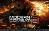 Modern Combat 3: Fallen Nation Android Title screen