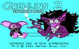 Gremlins 2: The New Batch DOS Title (CGA/Tandy)