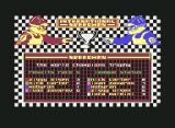 International Speedway Commodore 64 The result of the world championship. Congrats to Nick Carter!