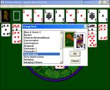 Solitaire Deluxe Windows 3.x Deck selection