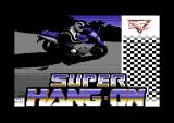 Super Hang-On Commodore 64 Loading screen.