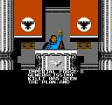 Bionic Commando NES The leader of the Badds, Generalissimo Killt