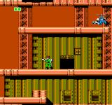 Bionic Commando NES One of your objectives in every level is to find the communication rooms, marked with an antenna symbol