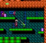Bionic Commando NES You can also give enemies a good whack with that bionic arm however to knock them backwards