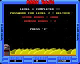Bug Hunter / Moon Dash Acorn 32-bit Completed a level (Moon Dash)