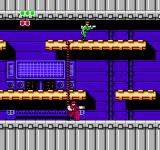 Bionic Commando NES You're not the only soldier with a Bionic Arm as this shielded foe points out