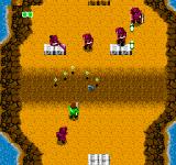 Bionic Commando NES Enemy Truck encounters are shown in a top-down view