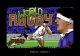 World Rugby Commodore 64 Loading screen.