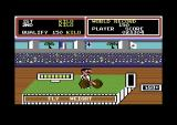 Hyper Sports Commodore 64 Weight Lifting.