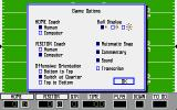 PlayMaker Football DOS Game Options (EGA/VGA)