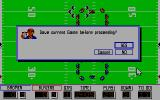 PlayMaker Football DOS Save game? (Tandy)