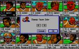 PlayMaker Football DOS Team Draft - Change Team Color (Tandy)