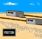 Desert Commander NES There are various 'special' squares on the map such as these fortifications which offer bonus defense