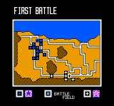 Desert Commander NES The big map gives you a general overview of the battlefield