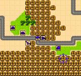 Desert Commander NES Those mountains offer much defense but slow movement