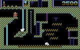 Montezuma's Revenge Commodore 64 Ah, a key! Now how to get there...