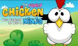 Ninja Chicken Android Title screen