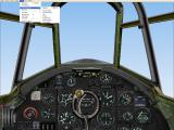 Battle of Britain: Memorial Flight Windows One of the cockpit views of the Mk II Hurricane. Others are available via the drop down menu.