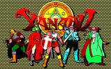 Xanadu: Dragon Slayer II FM-7 Title screen