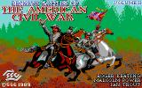 Decisive Battles of the American Civil War, Vol. 2 DOS Title Screen (EGA)