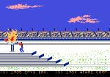 Winter Games Atari 7800 The opening ceremonies
