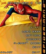 Spider-Man 2 N-Gage Main Menu