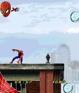 Spider-Man 2 N-Gage Starting the first 2D stage...