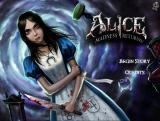 Alice: Madness Returns Browser Title screen