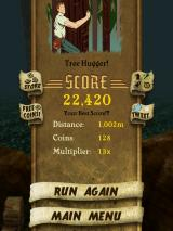 Temple Run iPad Evaluation of your run
