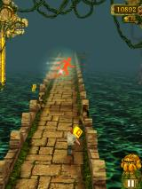 Temple Run iPad Automatic run power-up