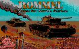 Rommel: Battles for North Africa DOS Title screen