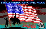 Decisive Battles of the American Civil War, Vol. 3 DOS Title Screen (EGA)