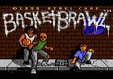 Basketbrawl Atari 7800 Title screen