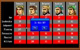 Genghis Khan Amiga Overview of characters