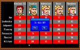 Genghis Khan Amiga Another overview of character abilities