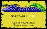 Crossbow Atari 7800 Title screen