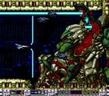 Aldynes: The Mission Code for Rage Crisis SuperGrafx This boss is nasty