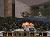 Duke Nukem 3D DOS Who would have thought the old man would have so much blood in him?