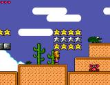 Toto World 3 SEGA Master System Desert area. Alligators, guitar players... what, no guitar players? Oh, ok...