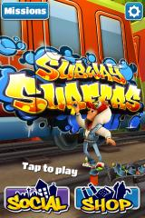 Subway Surfers iPhone Title screen
