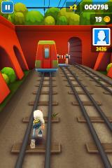 Subway Surfers iPhone Change the tracks!