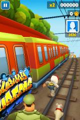 Subway Surfers iPhone They are behind you!