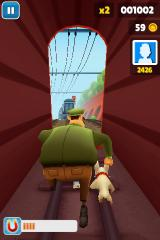 Subway Surfers iPhone They caught me in a tunnel