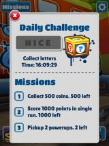 Subway Surfers iPad Challenges