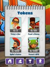 Subway Surfers iPad Tokens