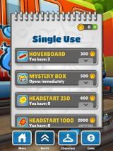 Subway Surfers iPad Single-use items